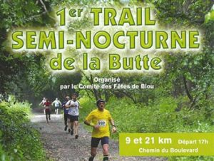 Trail et Cani Cross de la BUTTE - BLOU