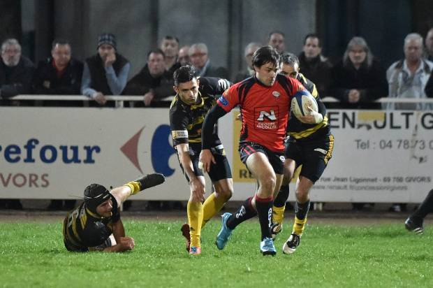 Rugby fédérale 3 : Ampuis va défier Givors