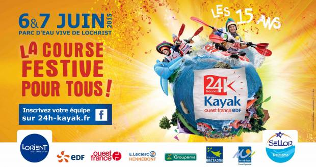Les 24 heures Kayak Ouest France - EDF