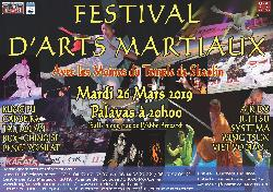 Affiche du Festival des Arts Martiaux